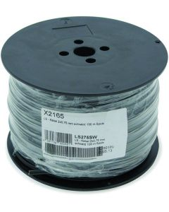 Televes LS275SW LS Cable 2x0.75mm Black 100m Spool